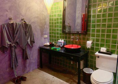Lavandino bagno camera deluxe