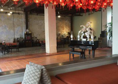 Memory at on on: il più antico Hotel di Phuket Town: dettaglio ingresso