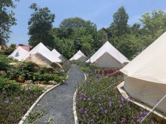 Il campeggio glamour di Rawai