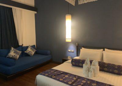 Memory at on on: il più antico Hotel di Phuket Town: dettaglio camera