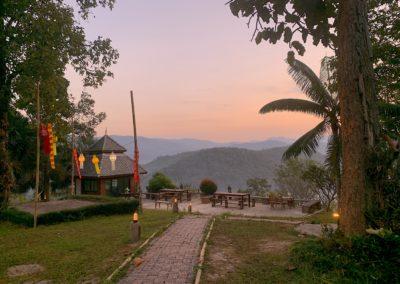 Il Tramonto tra le montagne di Chiang Mai
