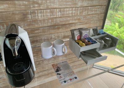 Dettaglio tavolo caffè