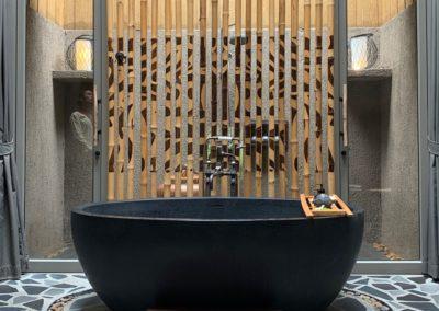 dettaglio bagno vasca da bagno
