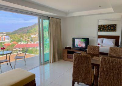 salotto appartamento in affitto a phuket